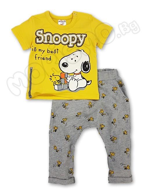 """Комлект от 2 части """"MRS Snoopy"""""""