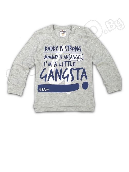 """Блуза с дълъг ръкав """"MRS Gangsta"""""""