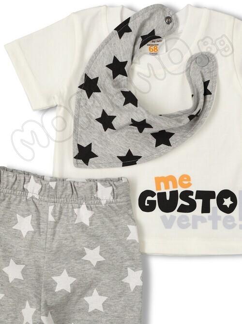 Комлект от тениска с панталон и бандана ''Gusto''
